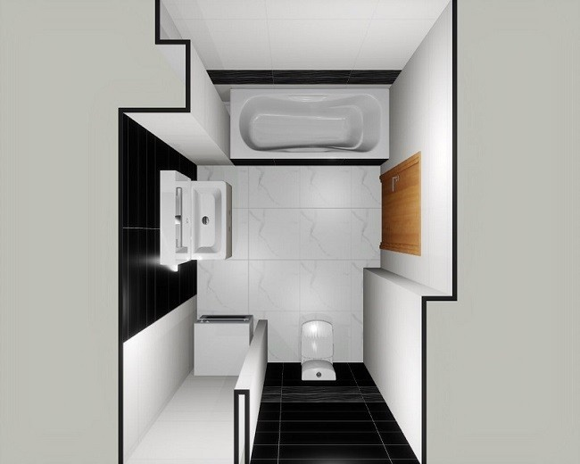 Vitra Marmori дизайн проект вид сверху